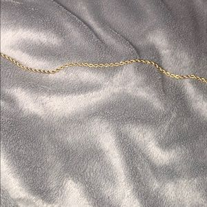 Solid 14k Gold Rope chain